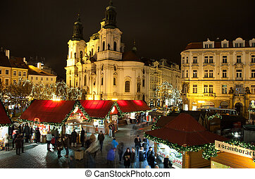 Christmas in Oldtown square in Prague
