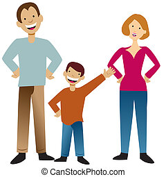 Family - An image of a family.