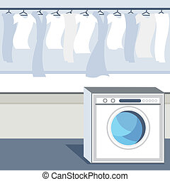 Laundry Room - An image of a laundry room.