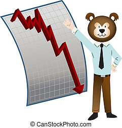 Bear Market - An image of a bear market.
