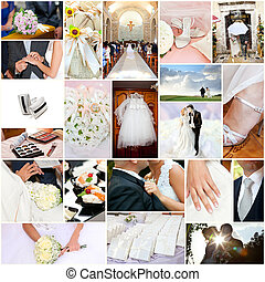 Wedding collage - Symbols and emotions - Wedding collage