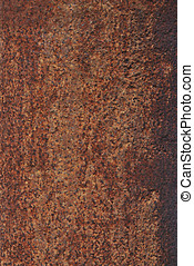 Corroded metal - A plate of a corroded and rusted metal