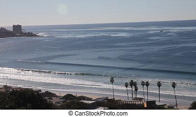 La Jolla shores, San Diego pan - La Jolla shores, San Diego,...