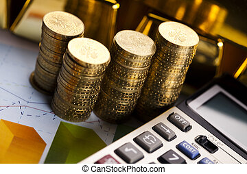 Monthly report,Finance Concept - Financial...