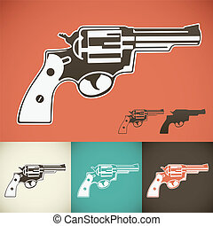 Revolver - Old wild west revolver.