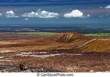 New Zealand landscape - Tongariro National Park, New Zealand