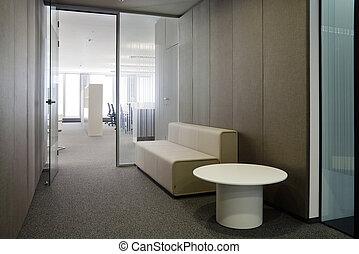 Corporative office - Indoor photograph of empty office...