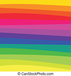 Rainbow Pattern - A rainbow colored pattern with...