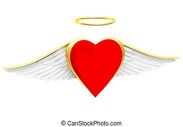 Halo hearts Illustrations and Clip Art. 893 Halo hearts ...