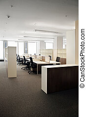 Corporative office - Indoor photograph of empty office space...