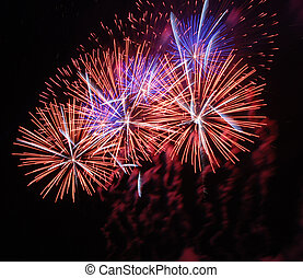 Fireworks - Beautiful photo of fireworks