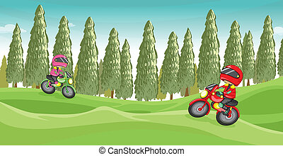 Motorcycle race