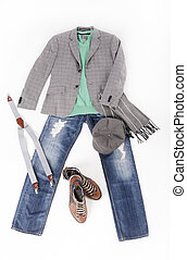 Fashion look for a young man