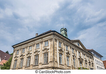 New Town Hall in Esslingen am Neckar, Germany - New Town...