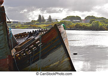 Resting Place - old fishing boat on Mull, Scotland