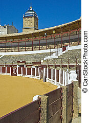 Ubeda's bullring, Spain - Bullring located at Ubeda,...