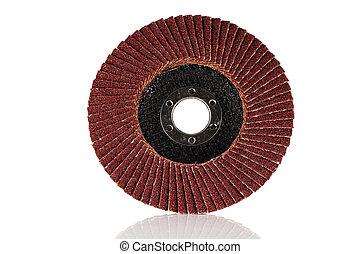 Abrasive grinding wheel. - Abrasive disk for grinder...