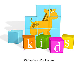 Children\\\'s cubes