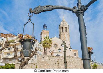 Fragata Square at Sitges, Spain - Fragata Square at Sitges...