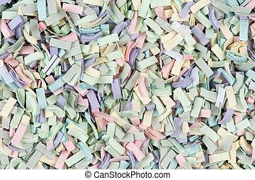 scrap paper background