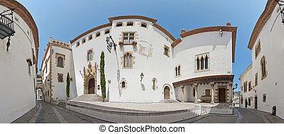 Maricel Palace at Sitges, Spain - Maricel Palace at Sitges...