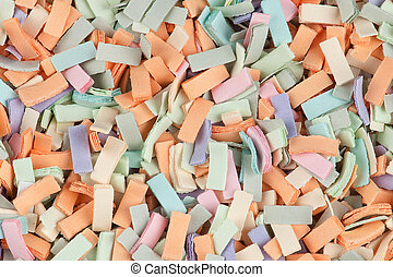 cut pieces of paper