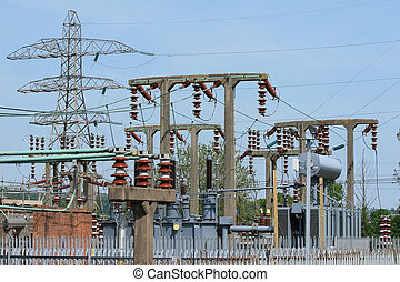 Electricy generation substation - Electricity generation...
