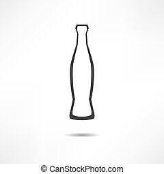Bottle With Cola Icon