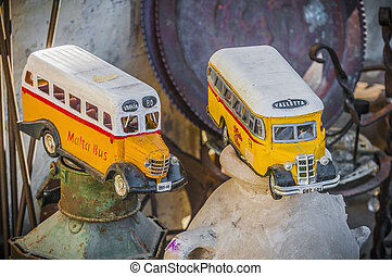 Malta's colourful buses in Gozo. - Malta's colourful vintage...