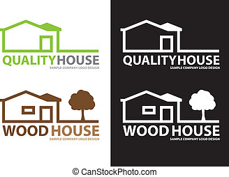 Company Logo House Design,Vector - Vector image for various...