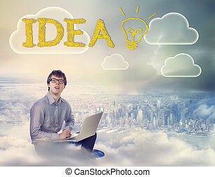 Young Man with an Idea