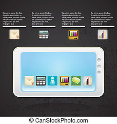 MOBILE SALES ICONS - All built into your smartphone, on...