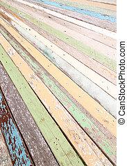 color wood background - old color wood background texture