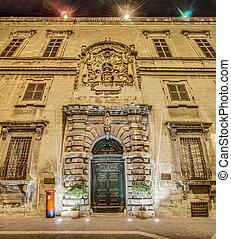 Auberge d'Italie in Valletta, Malta - Auberge d'Italie...