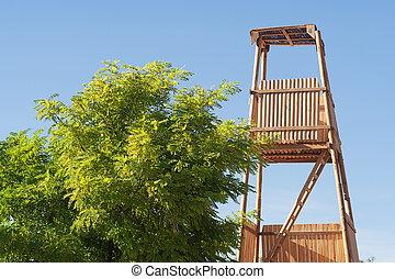roman siege tower constructed to protect assailants while...