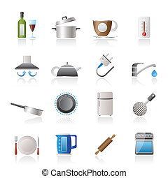 kitchen objects icons