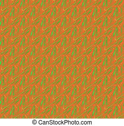 Pattern - seamless tileable texture - Orange green pattern...