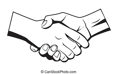 Clip Art Shaking Hands Clip Art shake hand clip art vector and illustration 7166 clipartby