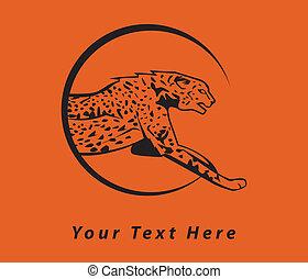 cheetah emblem