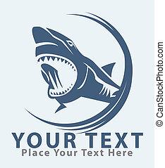 shark symbol