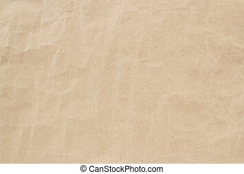 light brown crumpled paper texture or background - light...