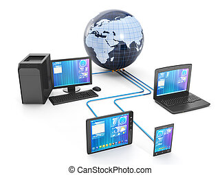 Internet technology. Group techniques of networked