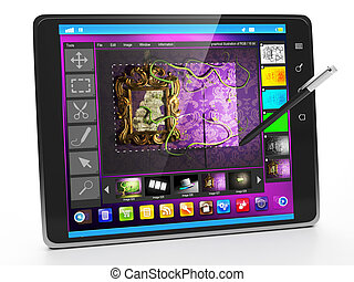 Mobile Applications on Tablet PC. Applications...