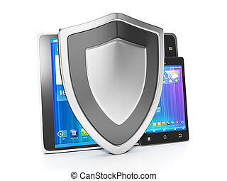 Protecting mobile devices from hacking and viruses. The...