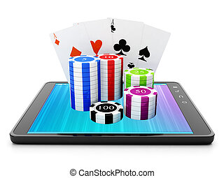 Applications for the Tablet PC Casino games through the...