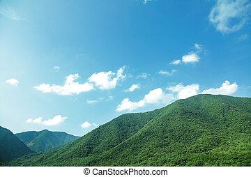 mountain range - green mountain range