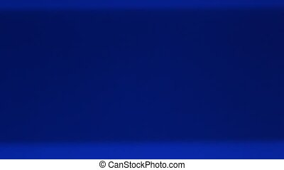 blue screen - shimmering, blue TV screen