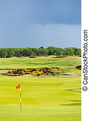 golf course, St Andrews, Fife, Scotland
