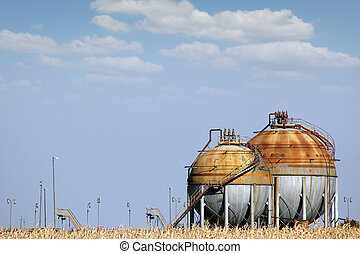 industry tank for gas and liquid
