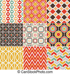 seamless retro vintage pattern